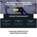 strony internetowe dla firm moovi strona portfolio