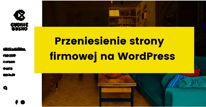 strony internetowe dla firm na wordpress case study portfolio