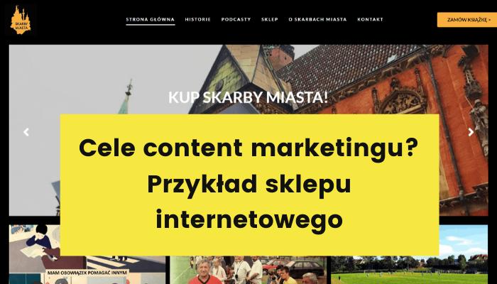 cele content marketingu przykłady sklep internetowy moovi